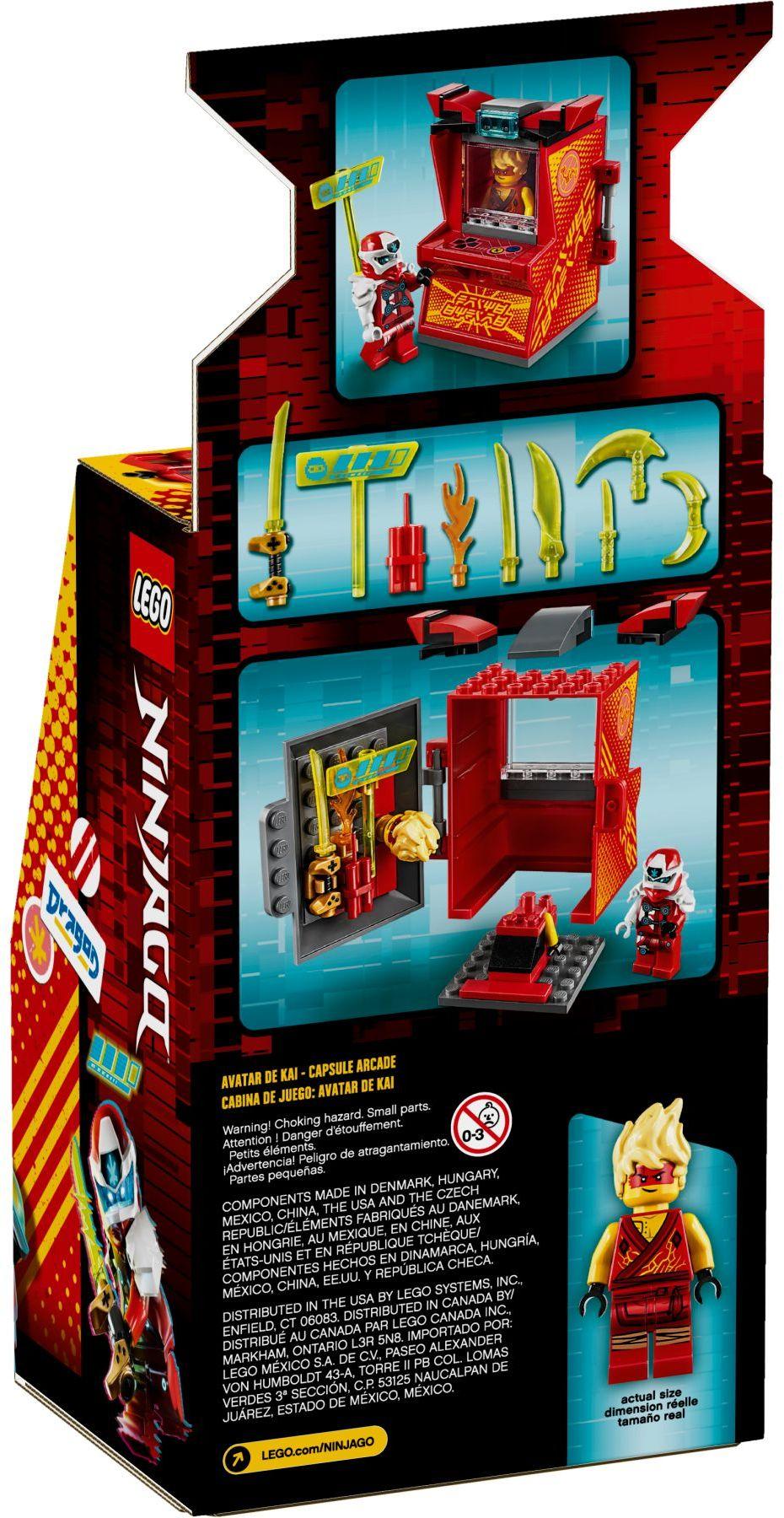 lego-ninjago-71714-avatar-kai-arcade-kapsel-2020-verpackung-rueckseite zusammengebaut.com