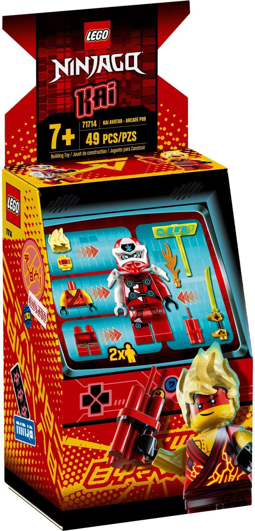 lego-ninjago-71714-avatar-kai-arcade-kapsel-2020-verpackung zusammengebaut.com