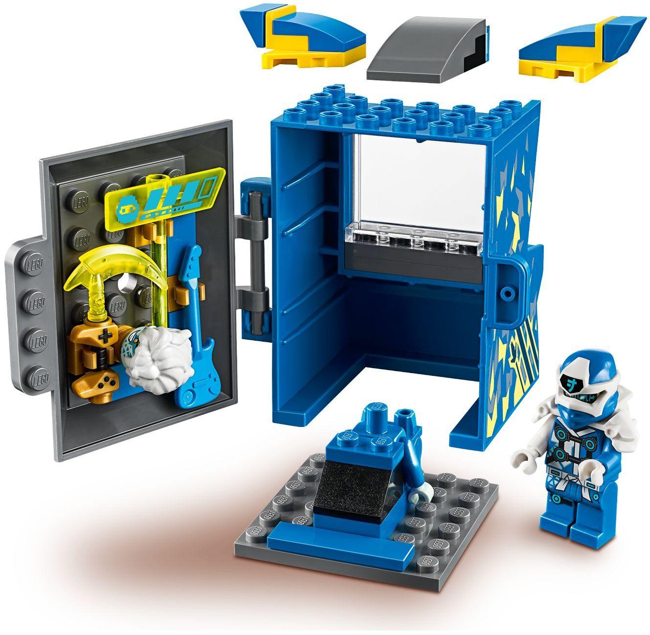 lego-ninjago-71715-avatar-jay-arcade-kapsel-2020-inhalt zusammengebaut.com