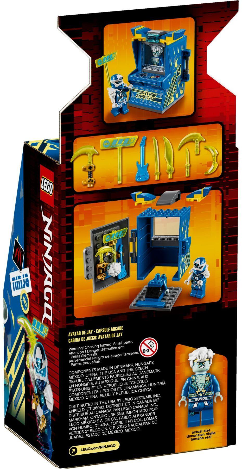 lego-ninjago-71715-avatar-jay-arcade-kapsel-2020-verpackung-rueckseite zusammengebaut.com