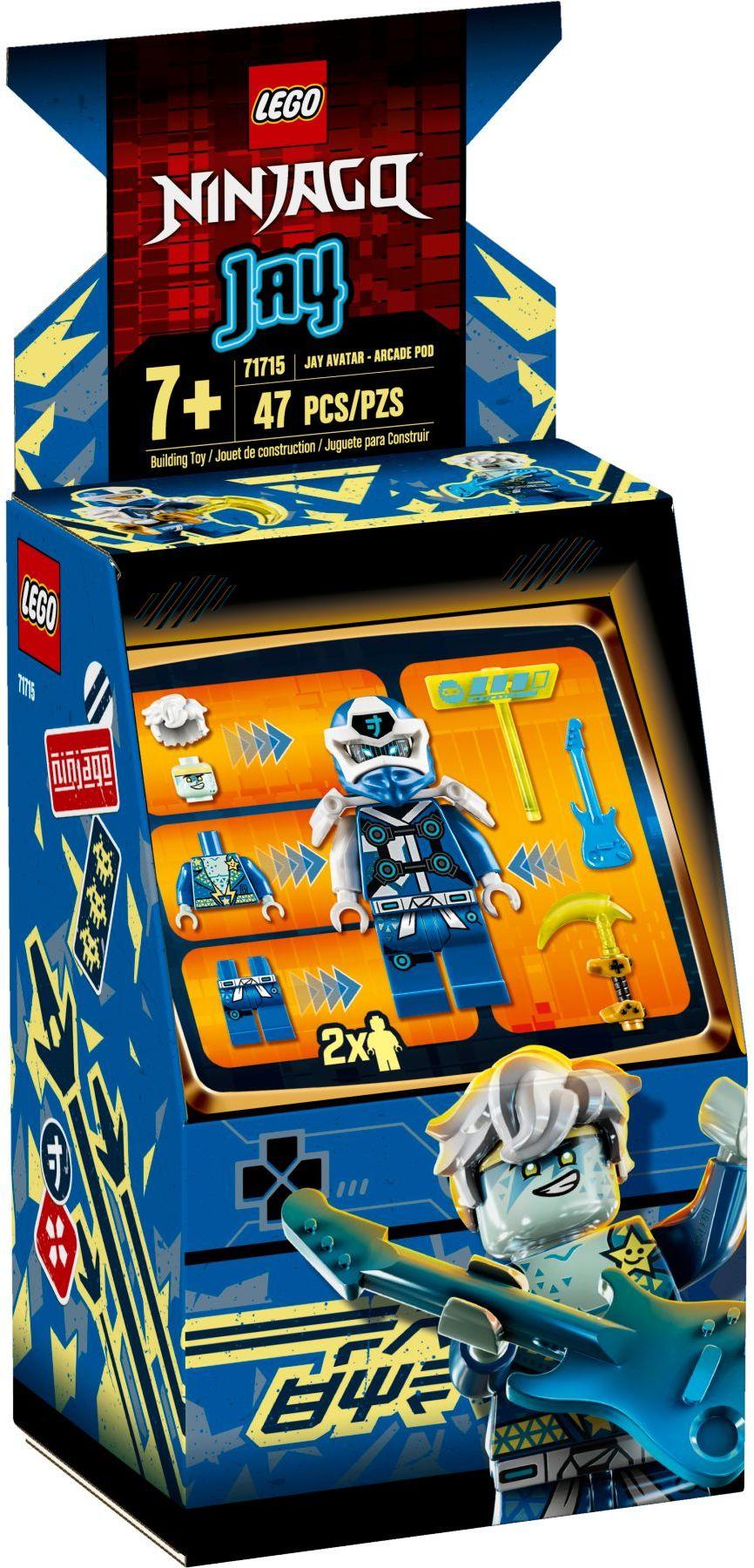 lego-ninjago-71715-avatar-jay-arcade-kapsel-2020-verpackung zusammengebaut.com