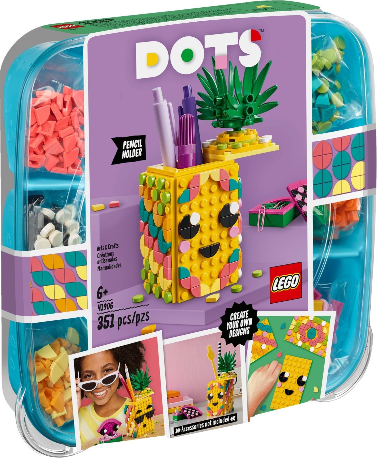 lego-dots-41906-ananas-stiftehalter-2020 zusammengebaut.com