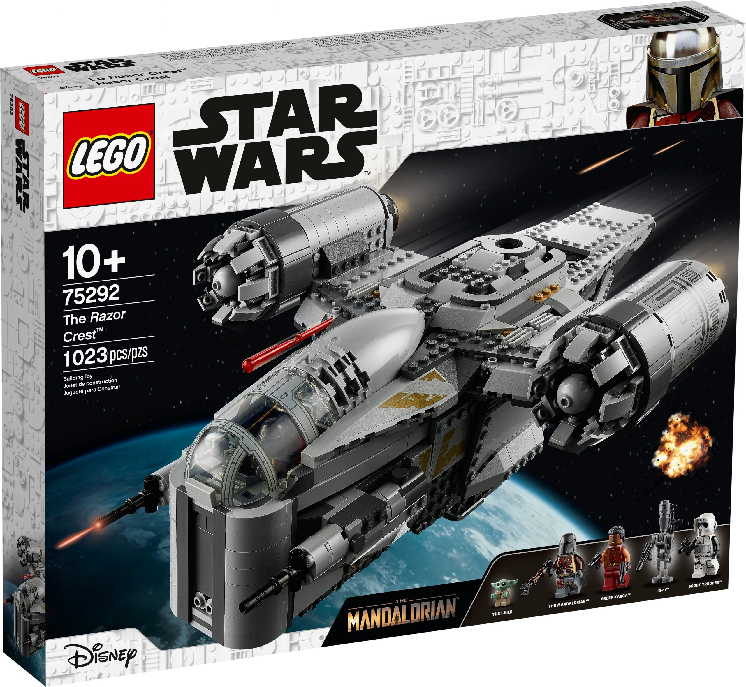 lego-star-wars-mandalorian-razor-crest-75292-box-front-2020 zusammengebaut.com