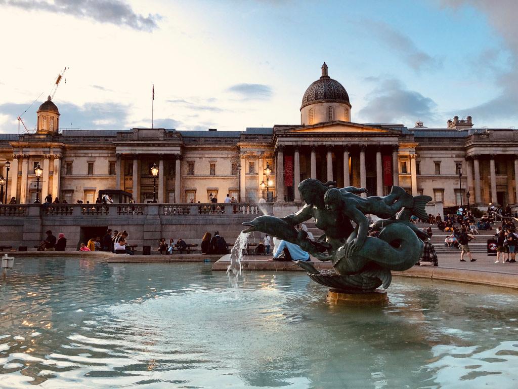 london-national-gallery-brunnen-2019-zusammengbaut-michael-kopp zusammengebaut.com