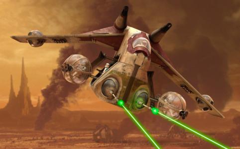 Das Republic Gunship wird als UCS Set