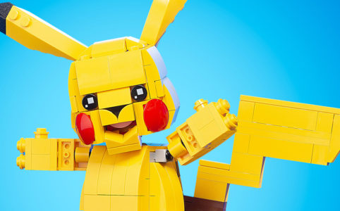 Pikachu by Build Better Bricks
