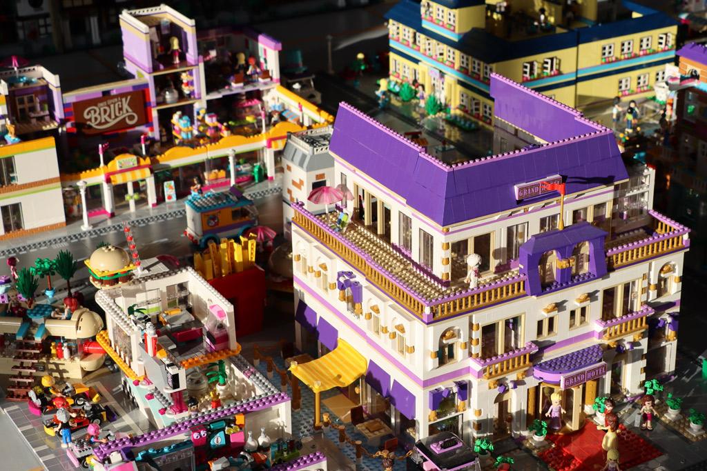 Riesiges Lego Friends Heartlake City Layout Eine Eigene Welt