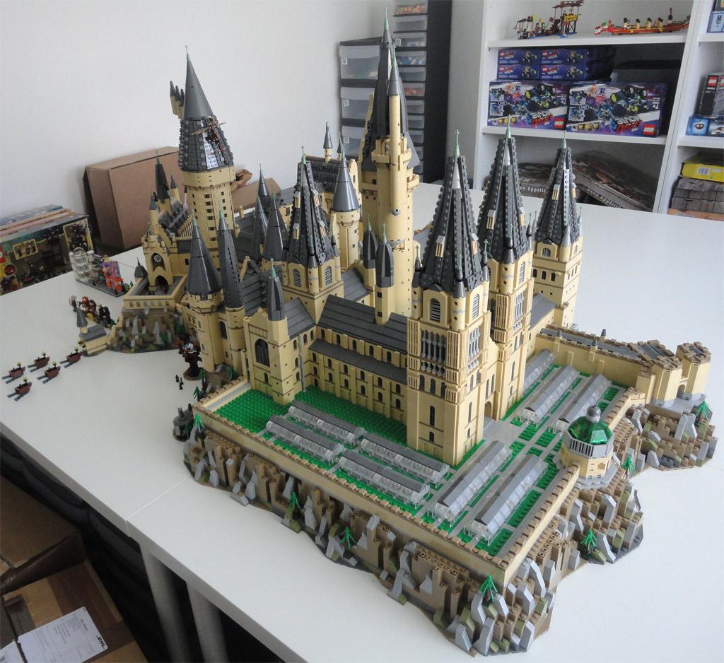 Lego News Schaustellerwagen Hogwarts Castle Xxl Und K I T T