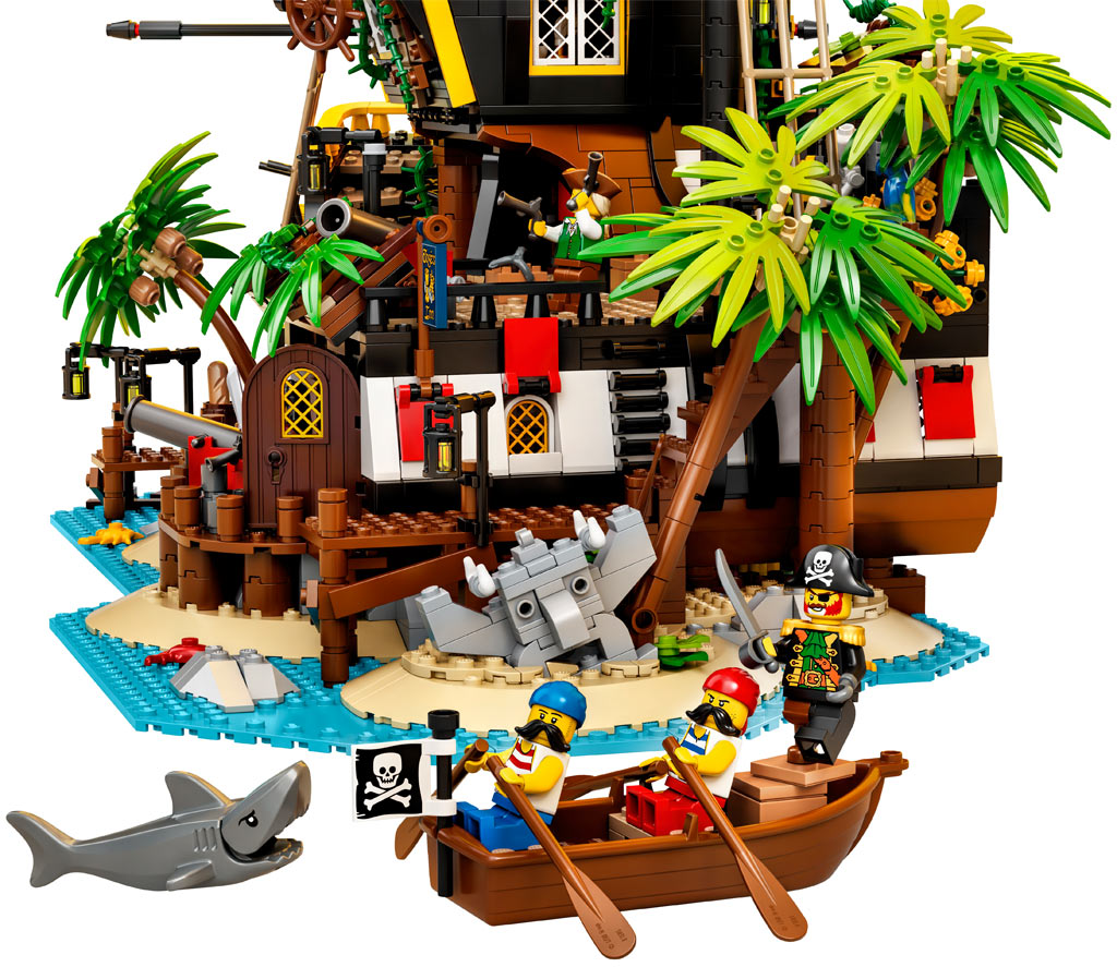lego-ideas-21322-pirates-of-barracuda-bay-piraten-bucht-2020-hai zusammengebaut.com