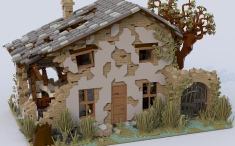lego-ideas-house-ruined-kirteem zusammengebaut.com