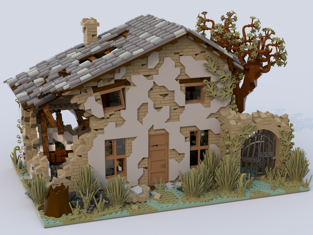 lego-ideas-house-ruined-kirteem zusammengebaut.com