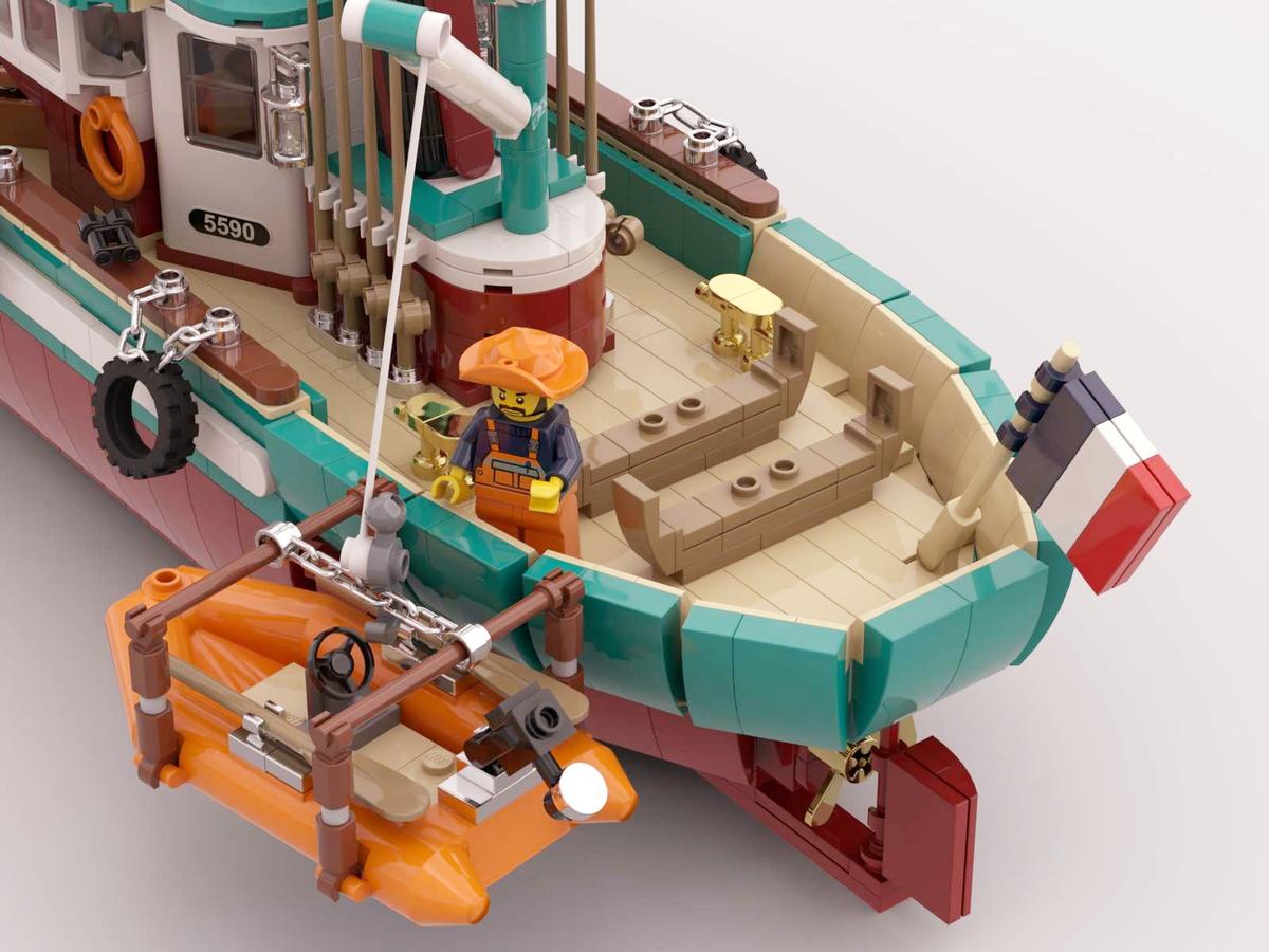 lego-ideas-the-great-fishing-boat-edouard-clo-beiboot zusammengebaut.com