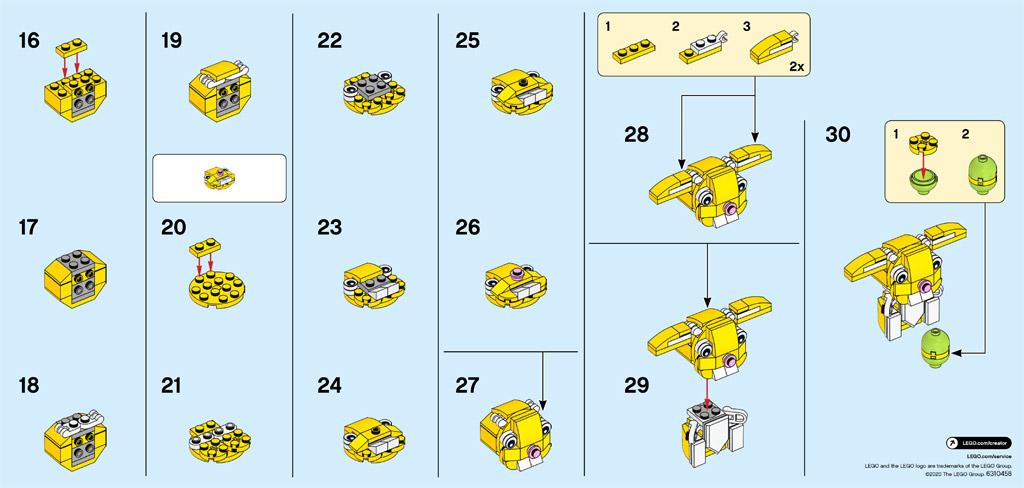 lego-seasonal-30550-osterhase-anleitung-2 zusammengebaut.com