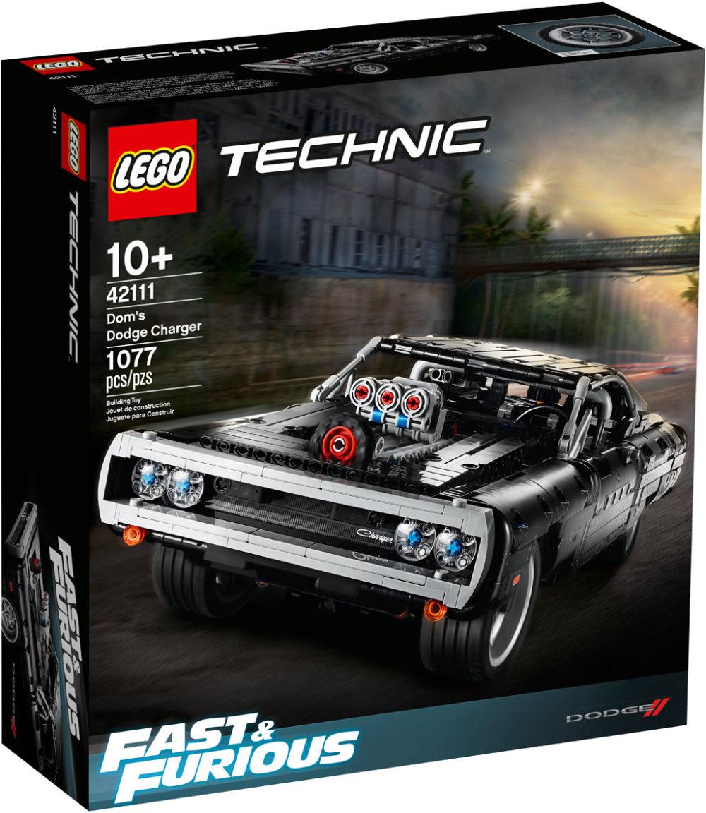 lego-technic-42111-doms-dodge-charger-box-2020 zusammengebaut.com