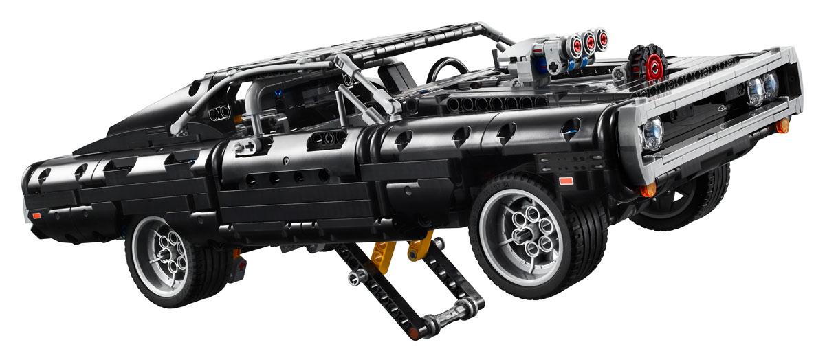 lego-technic-42111-doms-dodge-charger-werkstatt-2020 zusammengebaut.com
