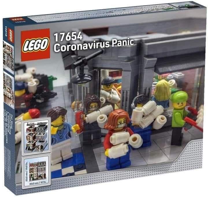Coronavirus Lego Set