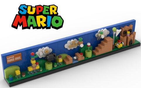 super-mario-level-1-matteo zusammengebaut.com