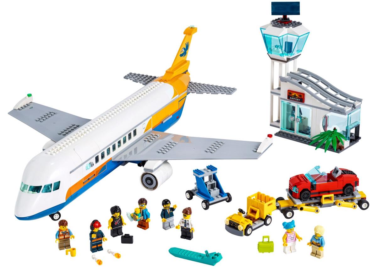lego-city-60262-passagierflugzeug-2020-inhalt zusammengebaut.com