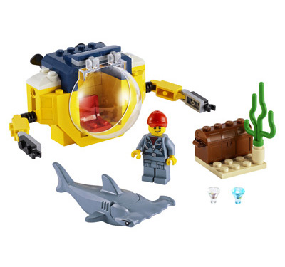lego-city-60263-mini-u-Boot-der-ozeanforscher-inhalt-2020 zusammengebaut.com