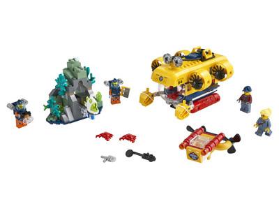 lego-city-60264-ozeanforscher-forschungs-u-boot-2020-inhalt zusammengebaut.com