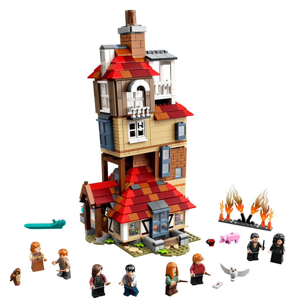 lego-harry-potter-75980-attack-on-the-burrow-2020-inhalt