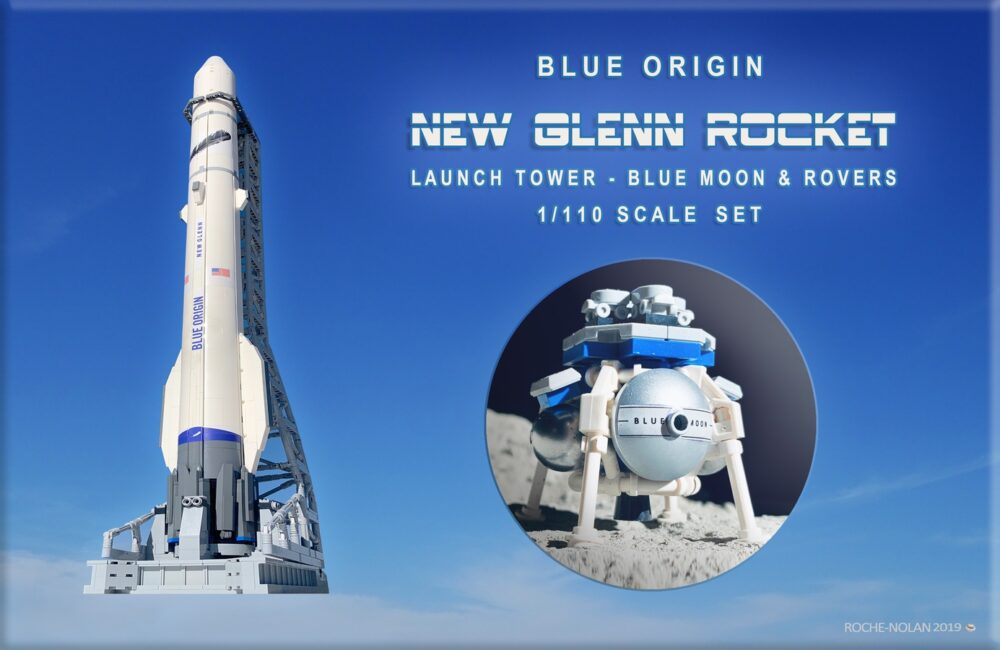 lego-ideas-blue-origin-new-glenn-rocket-launch-tower-blue-moon-lander-1-110-scale-set-matthew-nolan zusammengebaut.com