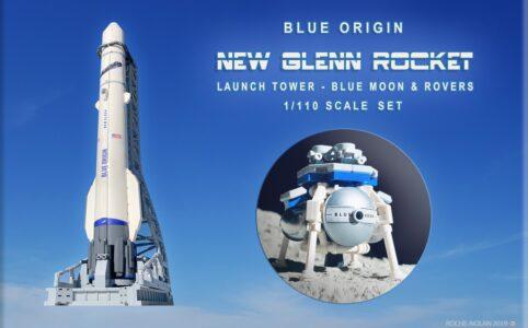 lego-ideas-blue-origin-new-glenn-rocket-launch-tower-blue-moon-lander-1-110-scale-set-matthew-nolan zusammengebaut.com