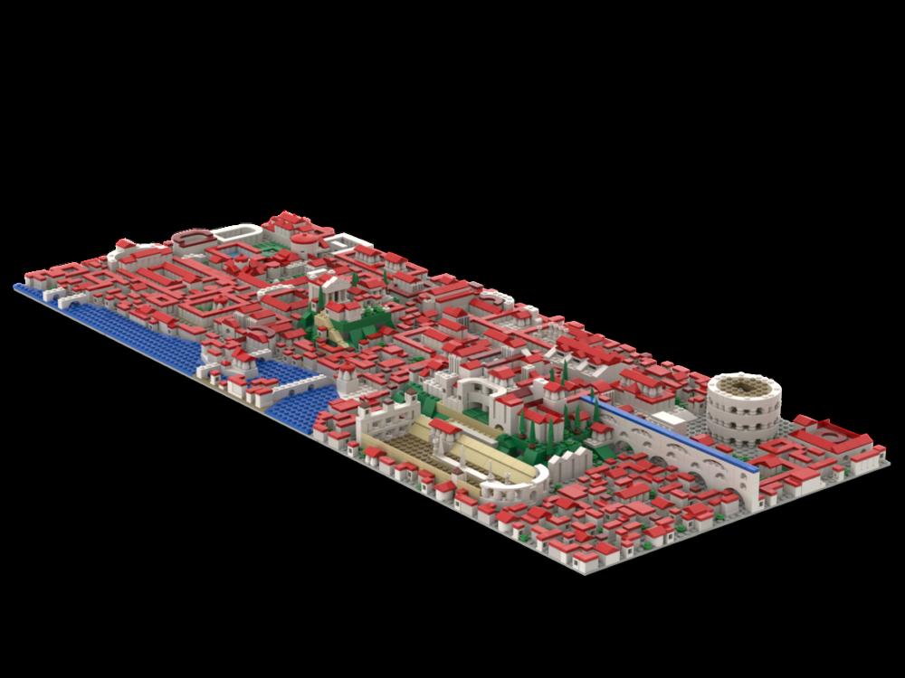 lego-ideas-historically-accurate-rome-daevead zusammengebaut.clom