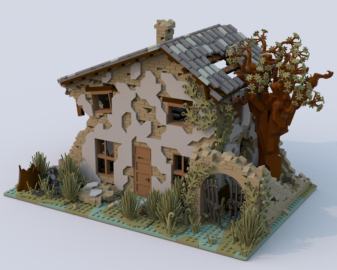 lego-ideas-house-ruined-kirteem-seite zusammengebaut.com