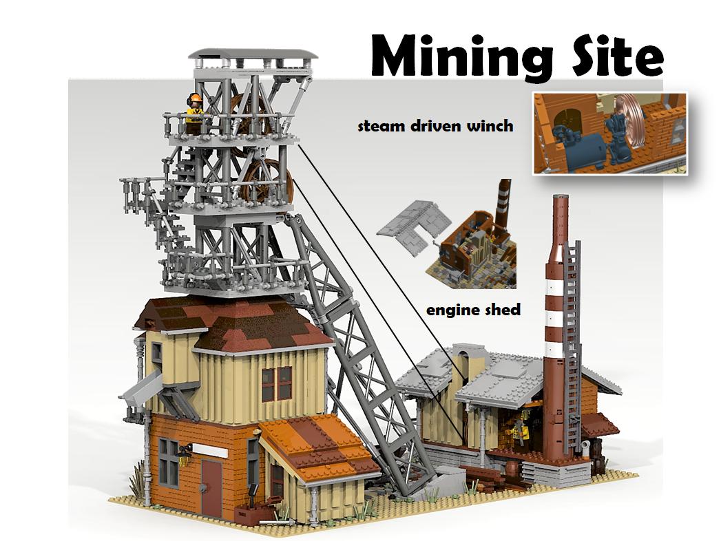 lego-ideas-mining-site-ymari-2 zusammengebaut.com