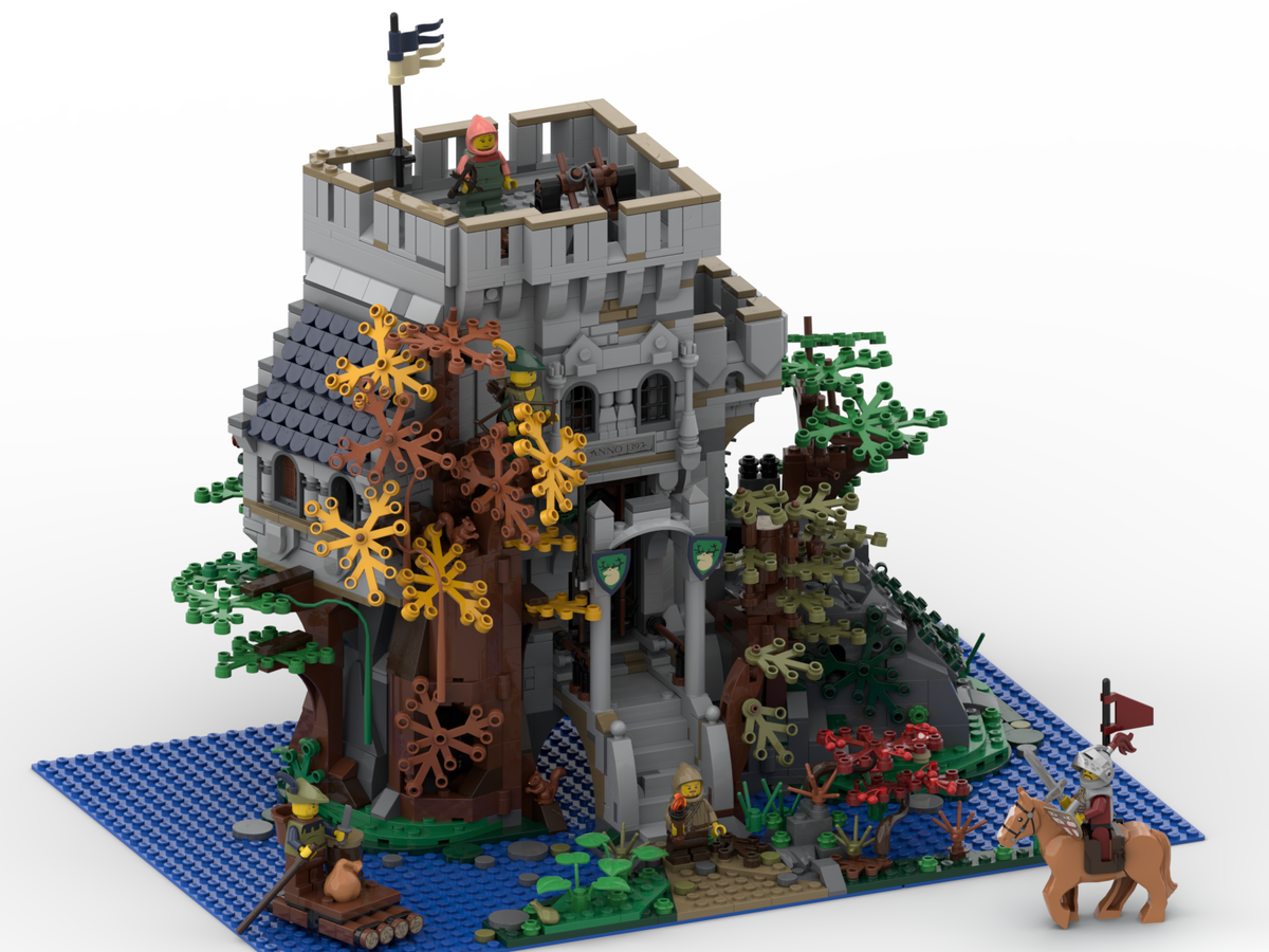 lego-ideas-the-castle-in-the-forest-poVoq-1 zusammengebaut.com