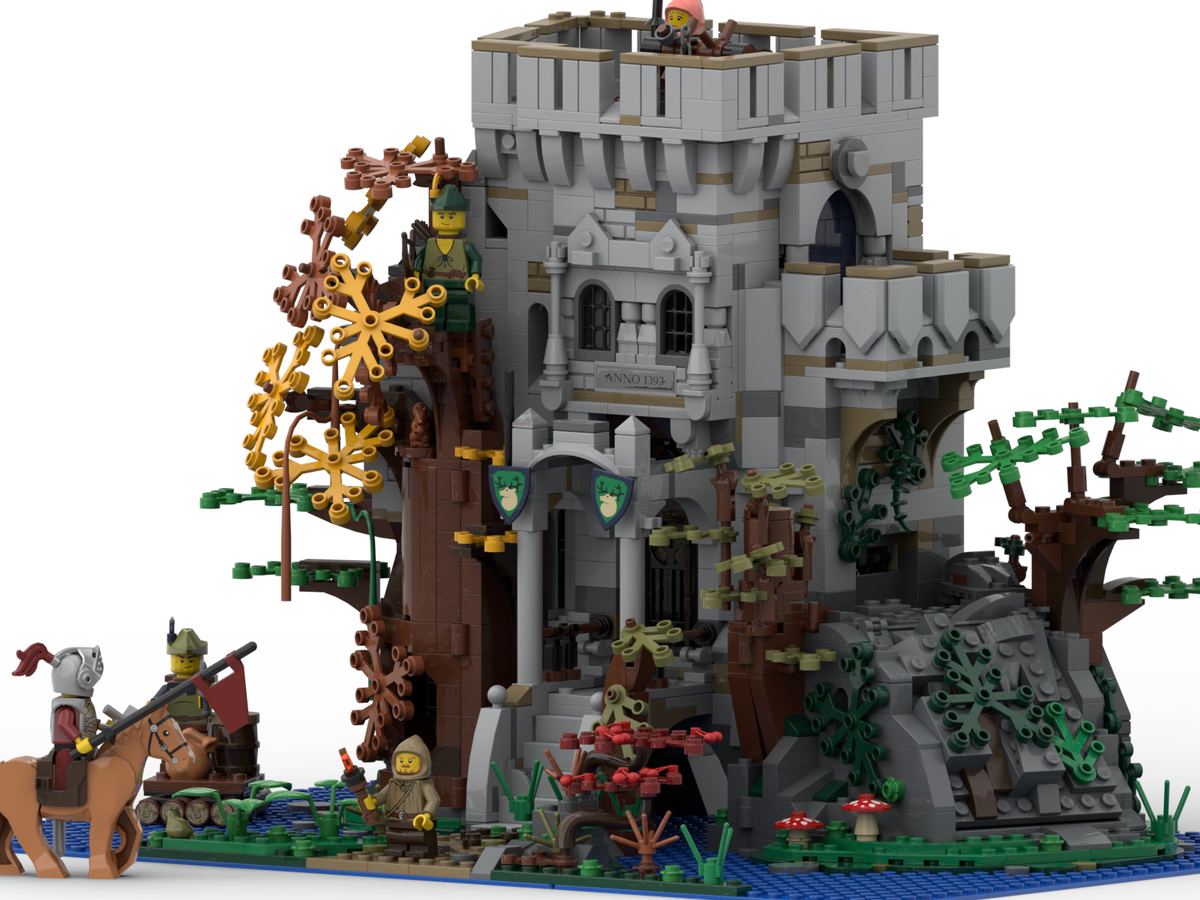 lego-ideas-the-castle-in-the-forest-poVoq-2 zusammengebau.com
