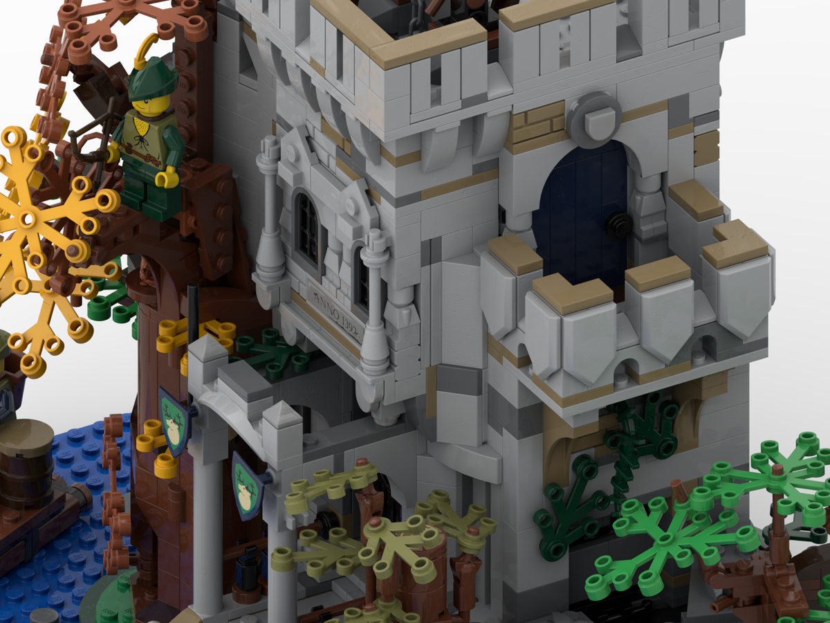 lego-ideas-the-castle-in-the-forest-poVoq-4 zusammengebaut.com