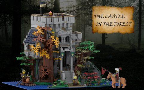 lego-ideas-the-castle-in-the-forest-poVoq zusammengebaut.com