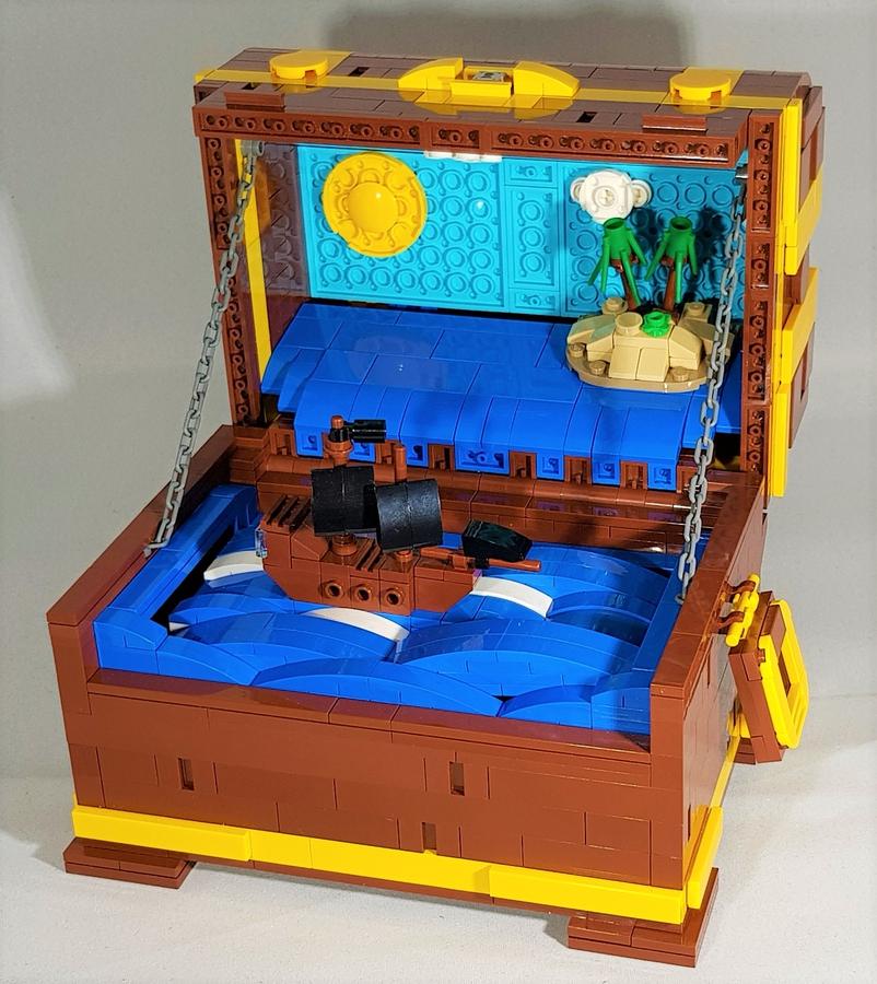 lego-ideas-treasure-chest-a-pirate-automaton-jollyt3bricks zusammengebaut.com