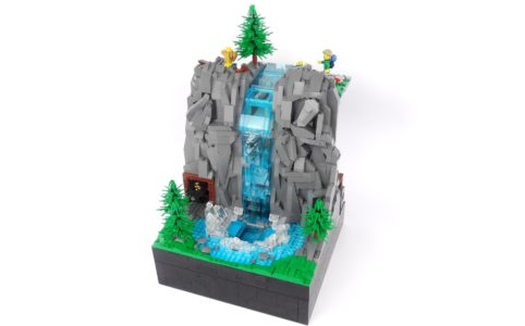lego-ideas-working-waterfall-with-continuous-flowing-water-legoparadise zusammengebaut.com