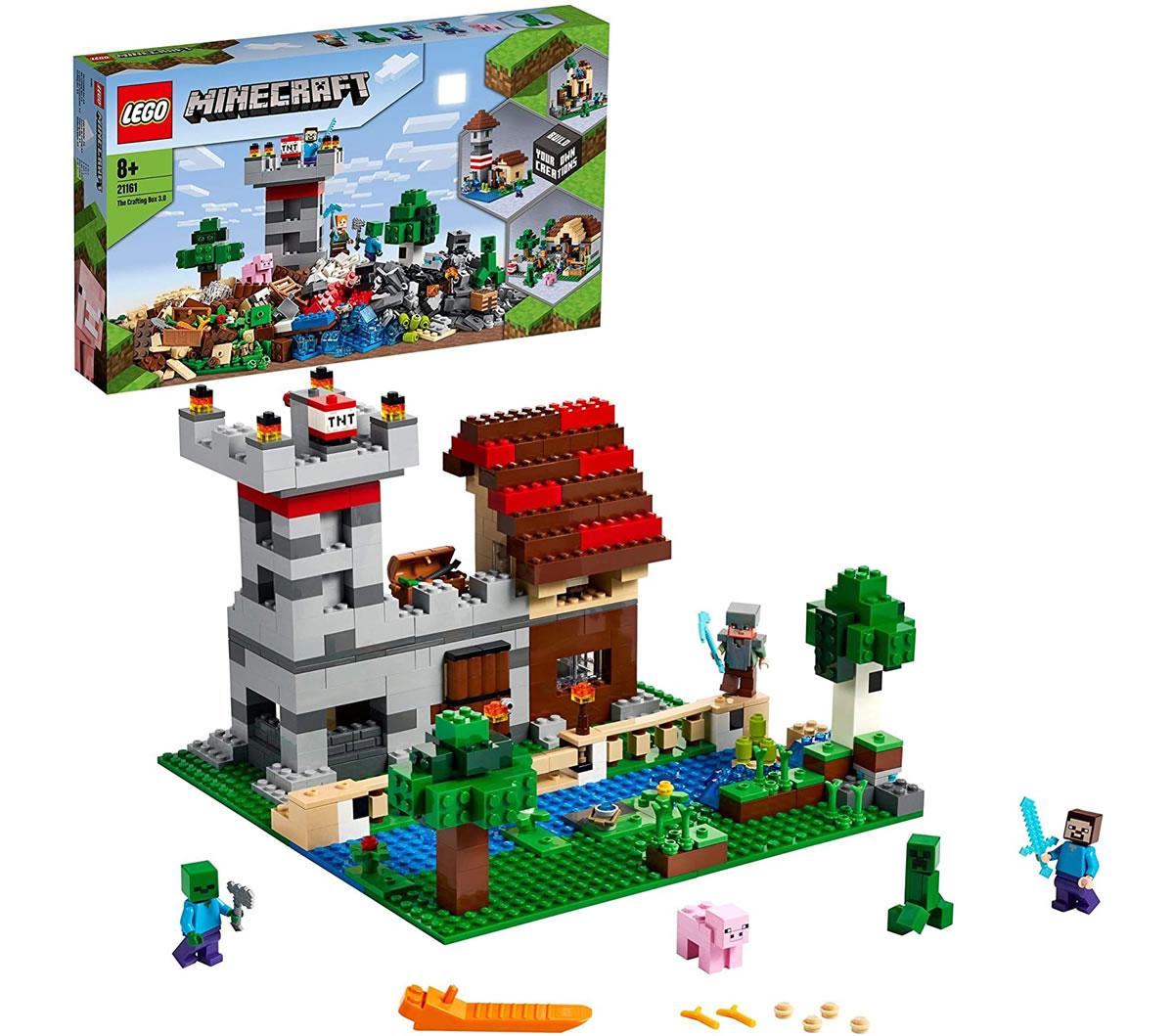 lego-minecraft-21161-crafting-box-uebersicht zusammengebaut.com