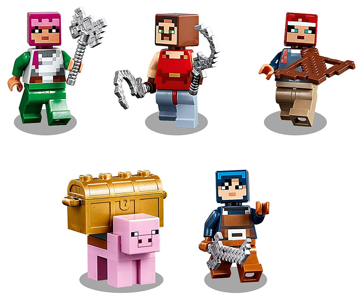 lego-minecraft-21163-redstone-battle-figuren zusammengebaut.com