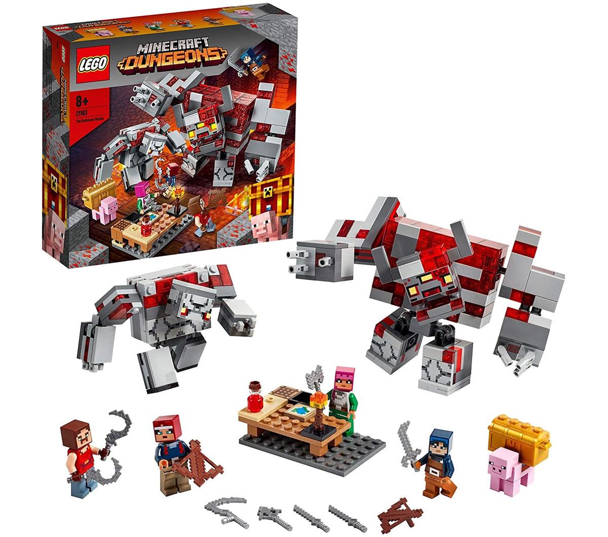 lego-minecraft-21163-redstone-battle-uebersicht zusammengebaut.com
