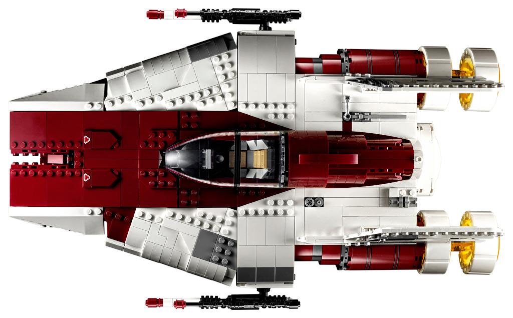 lego-star-wars-75275-ucs-a-wing-2020-draufsicht zusammengebaut.com