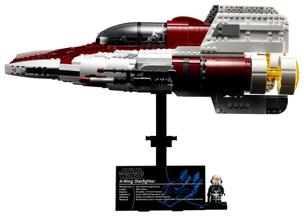 lego-star-wars-75275-ucs-a-wing-starfighter-2020-schild zusammengebaut.com