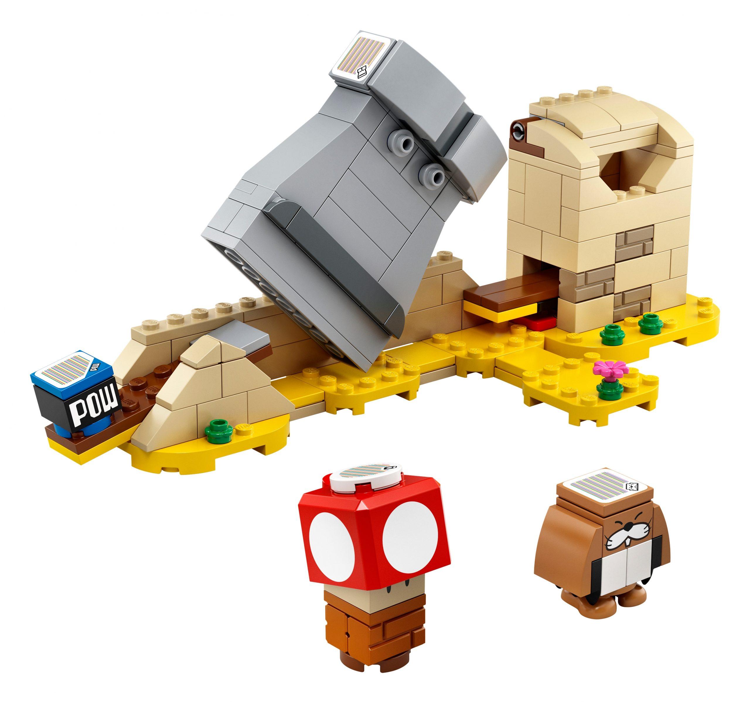 lego-super-mario-40414-monty-mole-super-mushroom-erweiterungs-set inhalt-2020 zusammengebaut.com