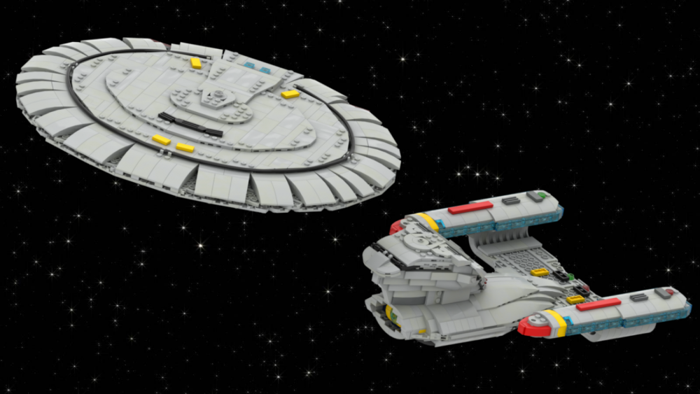 Enterprise D by Kybricks