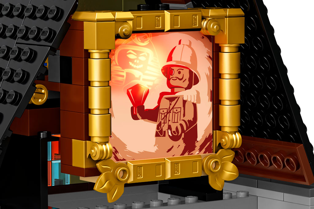 lego-fairground-collection-10273-haunted-house-spukhaus-2020-leuchtstein zusammengebaut.com