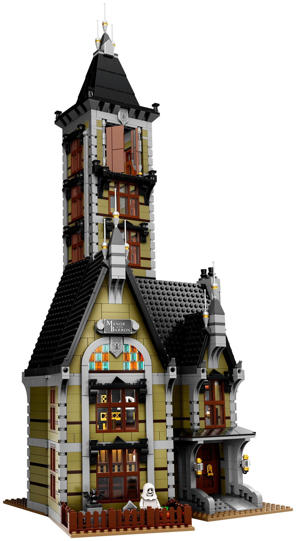 lego-fairground-collection-10273-haunted-house-spukhaus-2020-turm zusammengebaut.com