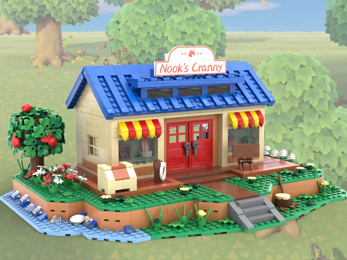 lego-ideas-animal-crossing-new-horizons-nooks-cranny-micro-model-maker-2020-1 zusammengebaut.com