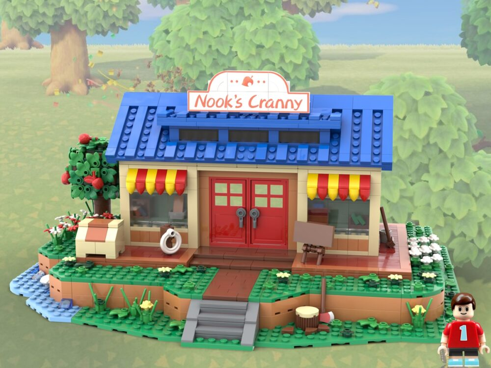 lego-ideas-animal-crossing-new-horizons-nooks-cranny-micro-model-maker-2020 zusammengebaut.com