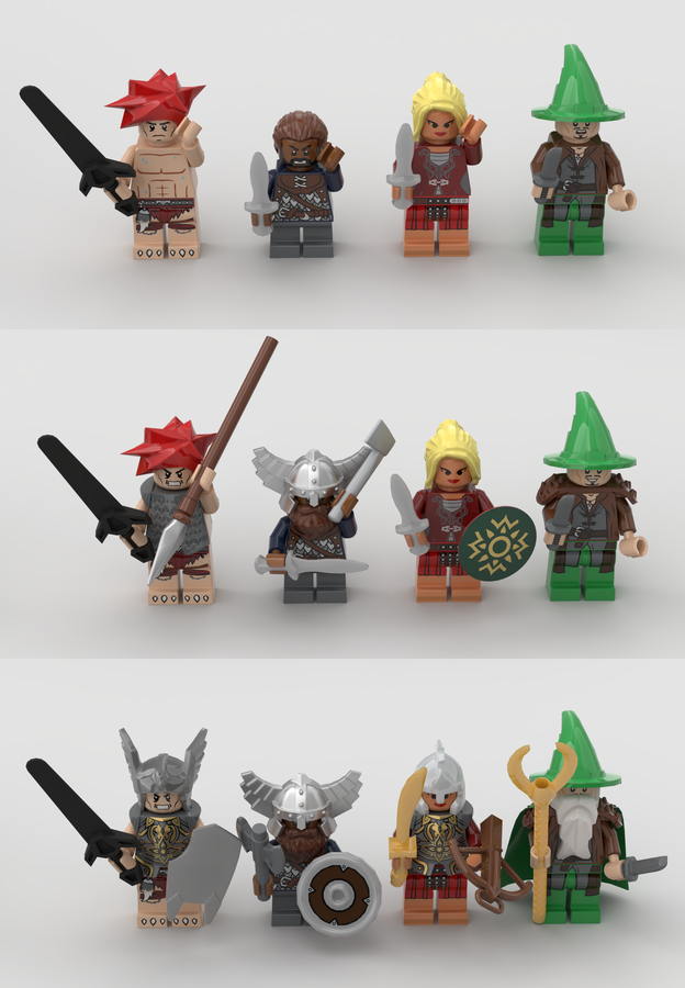 lego-ideas-hero-quest-kingglorioussquirrel-4 zusammengebaut.com
