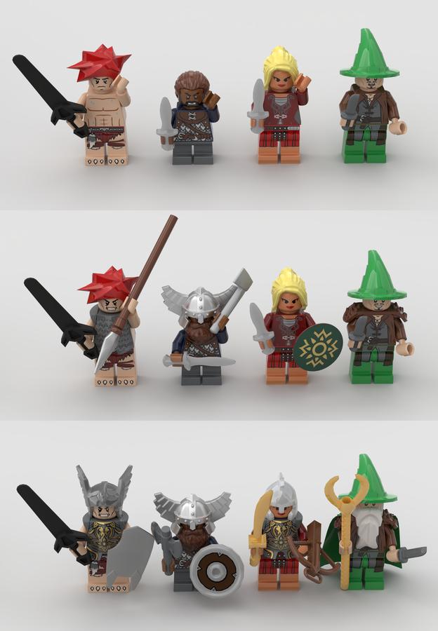lego-ideas-hero-quest-kingglorioussquirrel-4 zusammengebaut.com