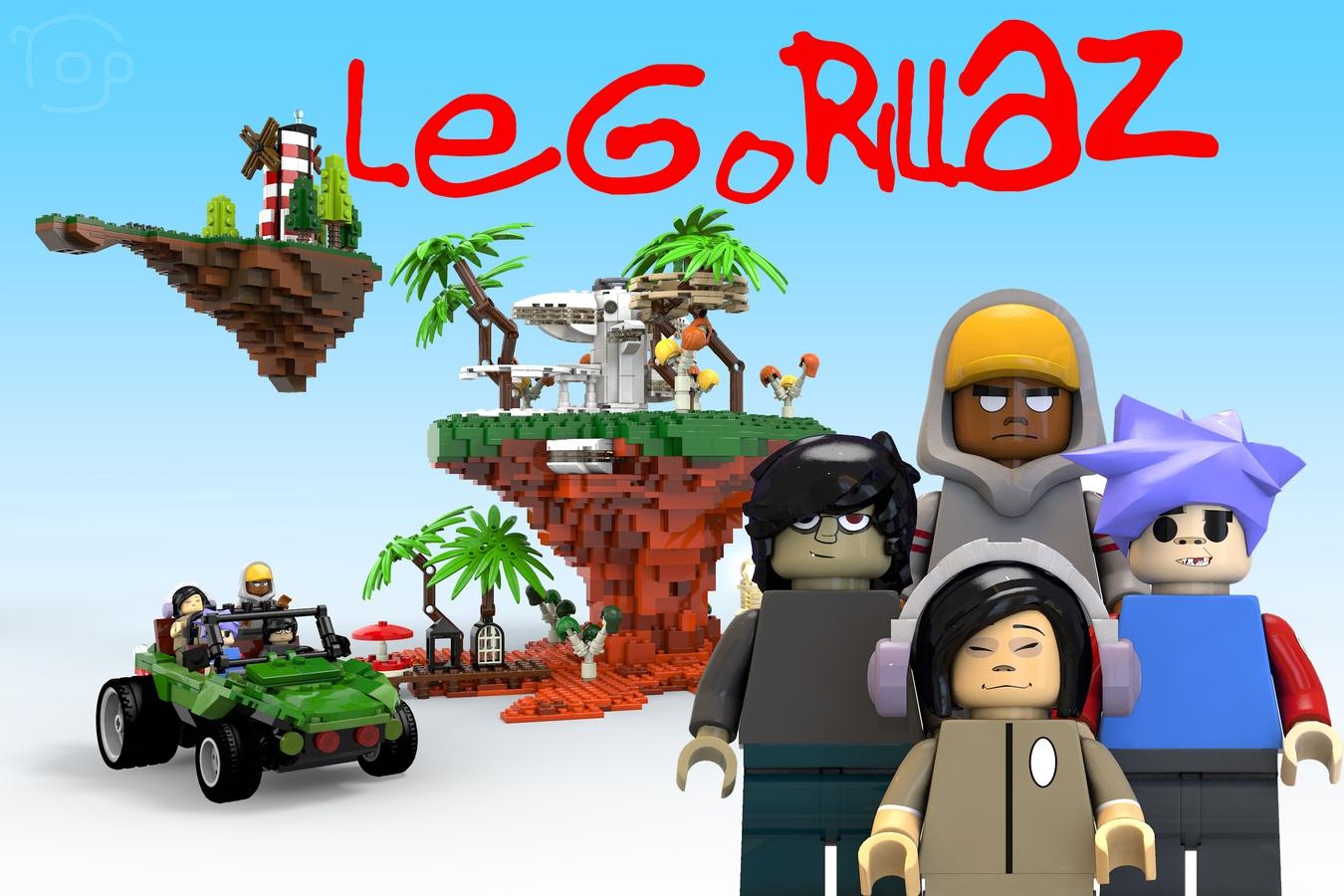 lego-ideas-le-gorillaz-yop1172 zusammengbaut.com
